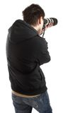 φωτογράφος Στοκ Εικόνα