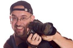 φωτογράφος Στοκ Εικόνες