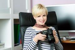 Φωτογράφος Στοκ φωτογραφία με δικαίωμα ελεύθερης χρήσης