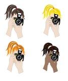 Φωτογράφος διανυσματική απεικόνιση