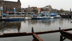 Φωτογραφίας πόλεων του Άμστερνταμ Στοκ εικόνα με δικαίωμα ελεύθερης χρήσης