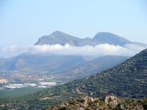 Φωτογραφία αέρα, Falasarna, Chania, Κρήτη, Ελλάδα στοκ φωτογραφία