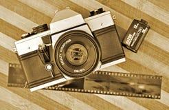 φωτογραφία αναδρομική Στοκ εικόνα με δικαίωμα ελεύθερης χρήσης