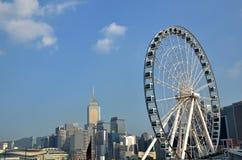 Φωτογραφία αποθεμάτων ροδών Ferris Στοκ Φωτογραφία