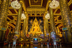 Φωτογραφία αποθεμάτων - phuttha Phra ονόματος αγαλμάτων του Βούδα chinnarat σε Wat Π Στοκ Φωτογραφία