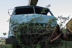 φωτογραφία ενός παλαιού φορτηγού Στοκ φωτογραφία με δικαίωμα ελεύθερης χρήσης