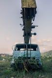 φωτογραφία ενός παλαιού φορτηγού Στοκ Εικόνα