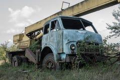 φωτογραφία ενός παλαιού φορτηγού Στοκ Φωτογραφίες