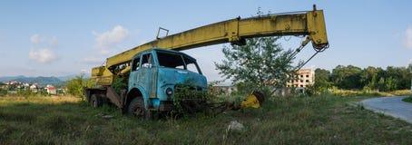 φωτογραφία ενός παλαιού φορτηγού Στοκ Φωτογραφία