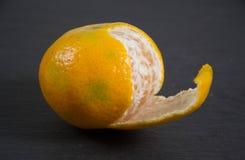 Φωτογραφία ενός tangarine Στοκ Εικόνα