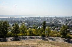 Φωτογραφία επισκόπησης της πόλης Στοκ Εικόνες