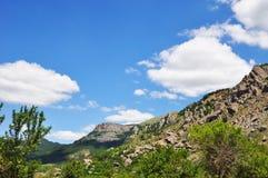 Φωτογραφία θέας βουνού Στοκ φωτογραφία με δικαίωμα ελεύθερης χρήσης