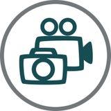 Φωτογραφία και βίντεο Στοκ Φωτογραφία