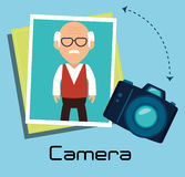 Φωτογραφία και κάμερα στοκ εικόνες