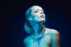φωτογραφία κοσμήματος μόδας ομορφιάς τέχνης Στοκ Φωτογραφίες