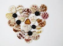 Φωτογραφία κοχυλιών θάλασσας για το μικροϋπολογιστής-απόθεμα στοκ εικόνες με δικαίωμα ελεύθερης χρήσης