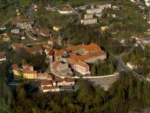 φωτογραφία μοναστηριών αέρ Στοκ Φωτογραφία