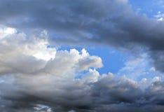 Φωτογραφία μπλε ουρανού Στοκ εικόνες με δικαίωμα ελεύθερης χρήσης