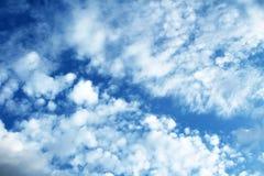 Φωτογραφία μπλε ουρανού Στοκ Εικόνα