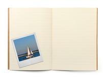 φωτογραφία πλαισίων βιβλ Στοκ εικόνες με δικαίωμα ελεύθερης χρήσης