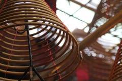 φωτογραφία ταξιδιού: Κινεζικά ραβδιά θυμιάματος Στοκ Εικόνες