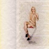 Φωτογραφία της γυναίκας στοκ φωτογραφίες με δικαίωμα ελεύθερης χρήσης