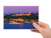 Φωτογραφία της Ιστανμπούλ Τουρκία υπό εξέταση Στοκ εικόνα με δικαίωμα ελεύθερης χρήσης