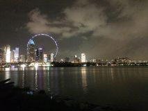 Φωτογραφία της πόλης της Σιγκαπούρης στοκ φωτογραφίες