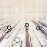 Φωτογραφία της σειράς της αλιείας των ράβδων στο κατάστημα Στοκ φωτογραφία με δικαίωμα ελεύθερης χρήσης