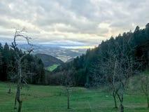 Φωτογραφία τοπίων βουνών στοκ φωτογραφίες
