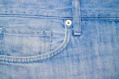 Φωτογραφία του άσπρου τζιν παντελόνι, τεμάχιο Στοκ Φωτογραφίες