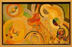 Φωτογραφία του αρχικού αέρα ζωγραφικής `, σίδηρος, νερό, Studa για ένα Mural ` από το Robert Delaunay στοκ φωτογραφίες με δικαίωμα ελεύθερης χρήσης
