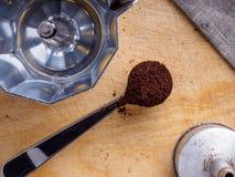 Φωτογραφία του καφέ στοκ εικόνες