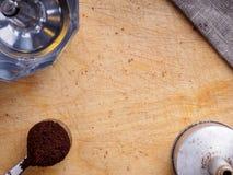 Φωτογραφία του καφέ στοκ εικόνα