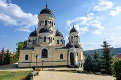 Φωτογραφία του μοναστηριού Capriana στη Μολδαβία Στοκ εικόνες με δικαίωμα ελεύθερης χρήσης