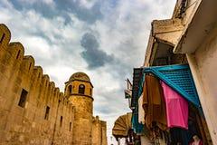 Φωτογραφία του μουσουλμανικού τεμένους σε Sousse στοκ εικόνα