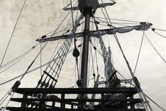 Φωτογραφία του παλαιού σκάφους Στοκ Εικόνες