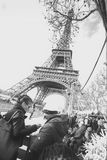 Φωτογραφία του πύργου του Άιφελ στοκ φωτογραφίες με δικαίωμα ελεύθερης χρήσης
