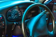 Φωτογραφία του ταμπλό στο αυτοκίνητο στοκ εικόνα με δικαίωμα ελεύθερης χρήσης