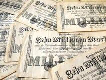 Γερμανικά χρήματα το 1923 Στοκ Φωτογραφία