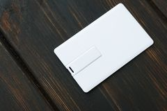 Φωτογραφία των κενών καρτών καρτών λάμψης usb Στοκ Φωτογραφία