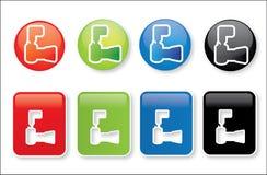φωτογραφία φωτογραφικών μηχανών κουμπιών Στοκ φωτογραφία με δικαίωμα ελεύθερης χρήσης