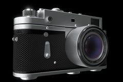 φωτογραφία φωτογραφικών &m Μαύρο και διαφανές υπόβαθρο Στοκ φωτογραφία με δικαίωμα ελεύθερης χρήσης