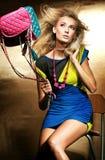 Φωτογραφία ύφους μόδας Στοκ φωτογραφία με δικαίωμα ελεύθερης χρήσης