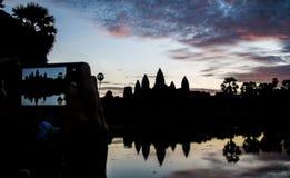 Φωτογραφία Angkor Wat Στοκ φωτογραφίες με δικαίωμα ελεύθερης χρήσης