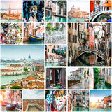 Φωτογραφίες από τη Βενετία Στοκ Εικόνες
