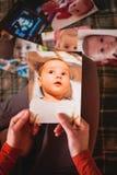 Φωτογραφίες ενός μικρού παιδιού στοκ εικόνα με δικαίωμα ελεύθερης χρήσης