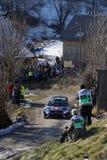 Φωτογραφίες και αγωνιστικό αυτοκίνητο Στοκ εικόνα με δικαίωμα ελεύθερης χρήσης