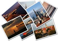 Φωτογραφίες του Ταλίν Στοκ φωτογραφίες με δικαίωμα ελεύθερης χρήσης