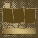 φωτογραφίες τρία πλαισίων Διανυσματική απεικόνιση